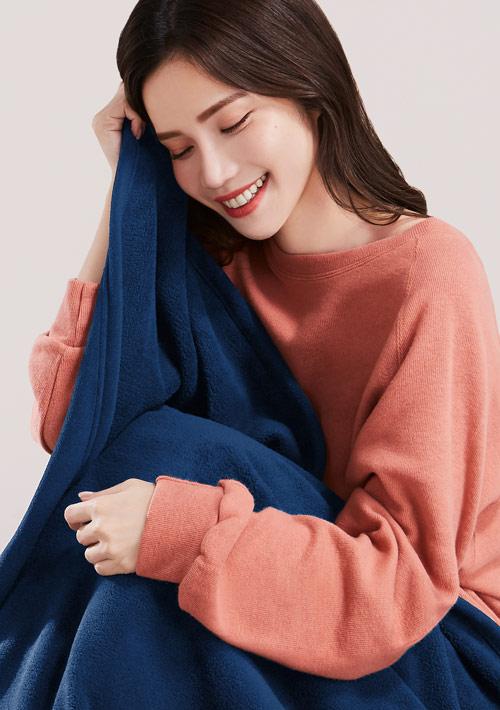 Fleece保暖居家毯