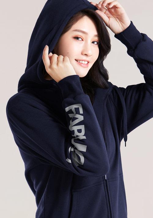 【限時$320】FABULOUS 刷毛連帽外套