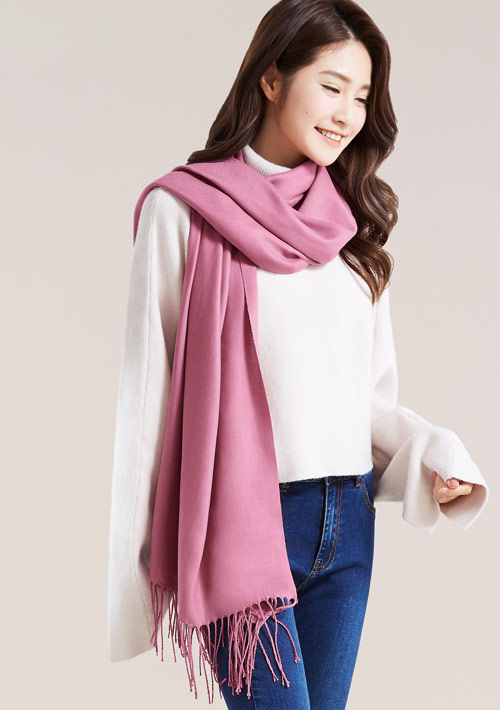 柔軟保暖圍巾