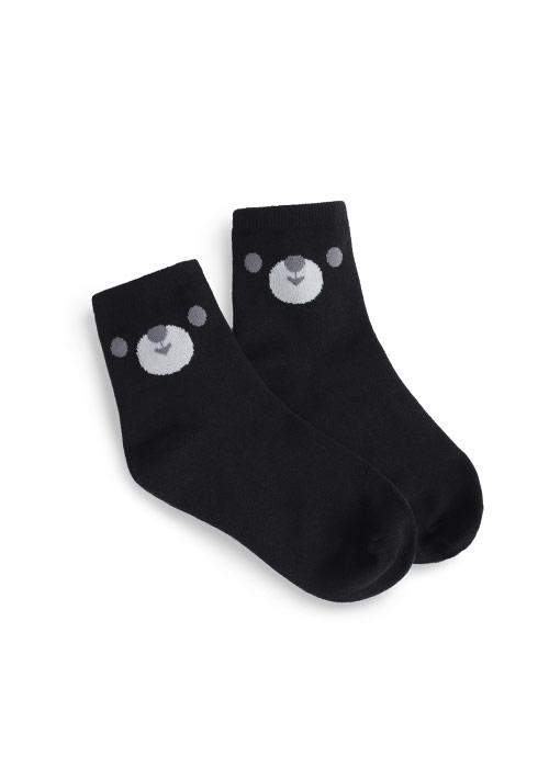 熊熊中筒襪