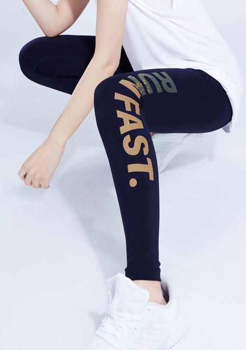 RUN FAST吸排運動緊身褲