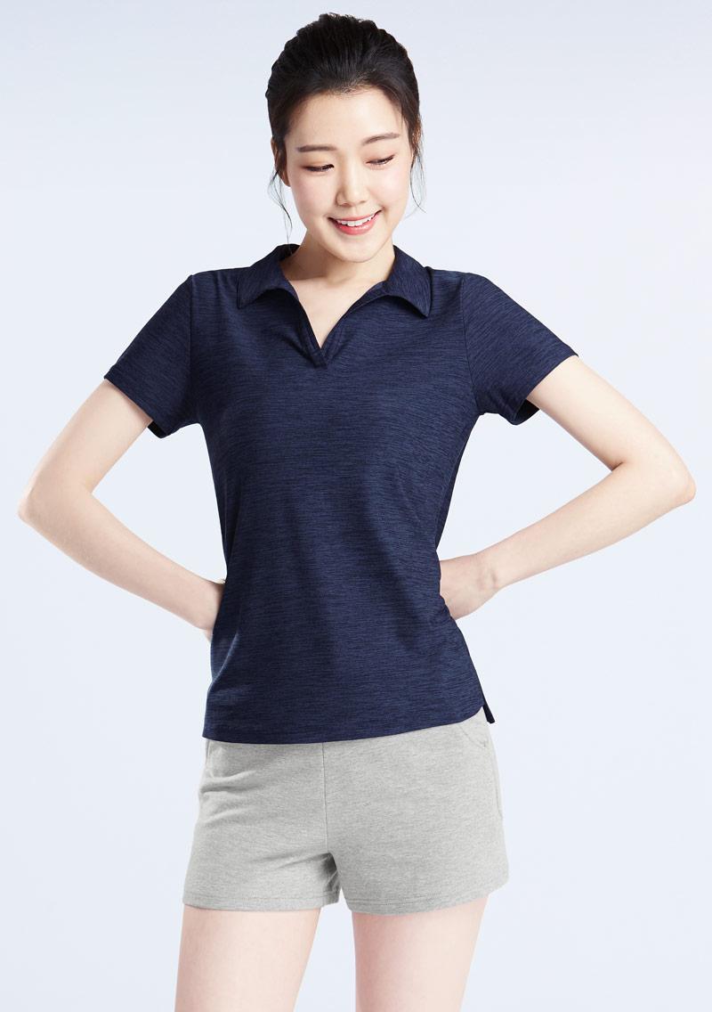 抗UV吸排涼感polo衫