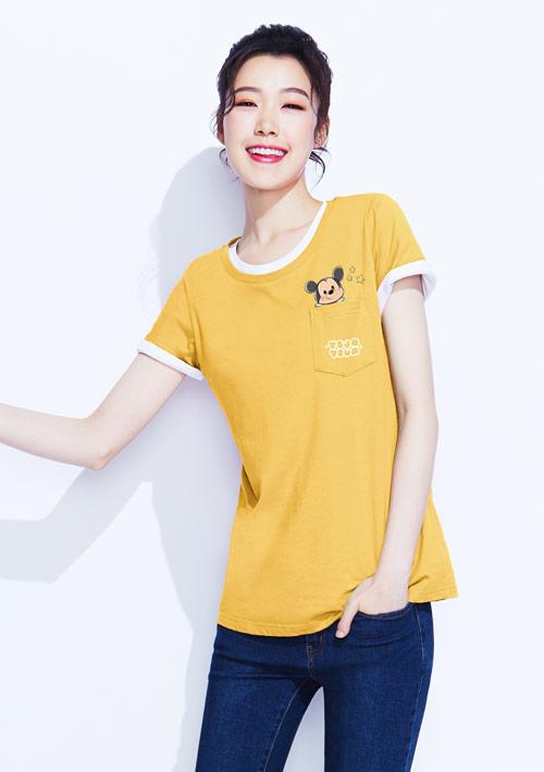 Tsum Tsum系列純棉印花T恤-01