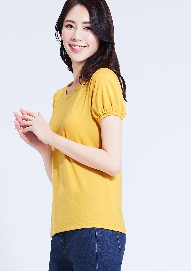 特級四面彈性泡泡袖T恤