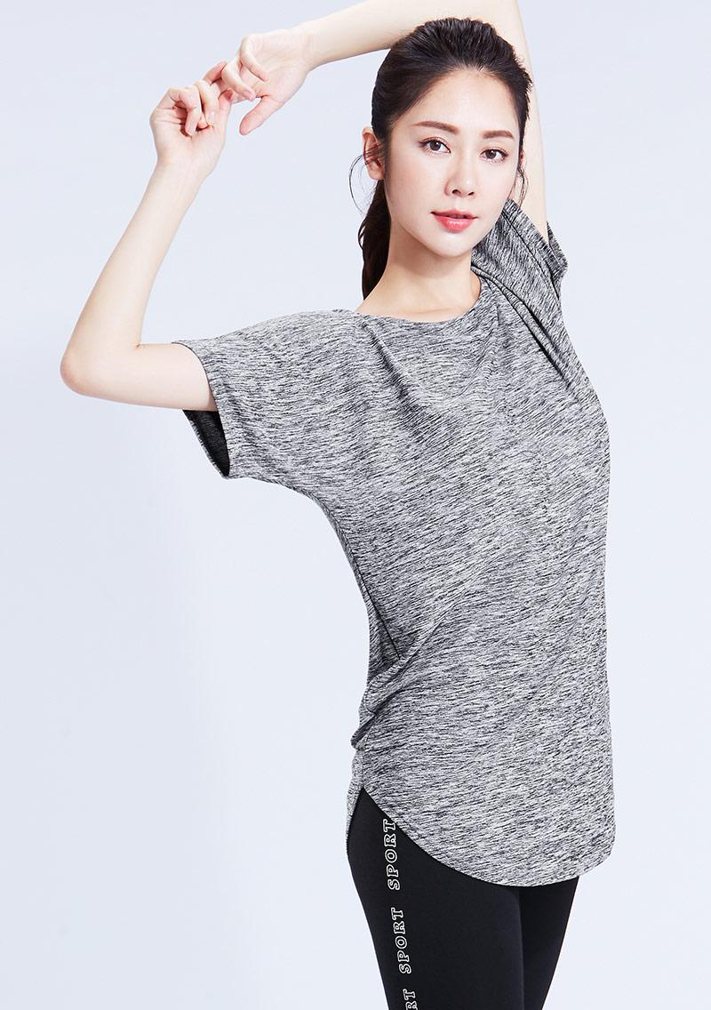 抗UV吸排涼感寬袖長版T恤