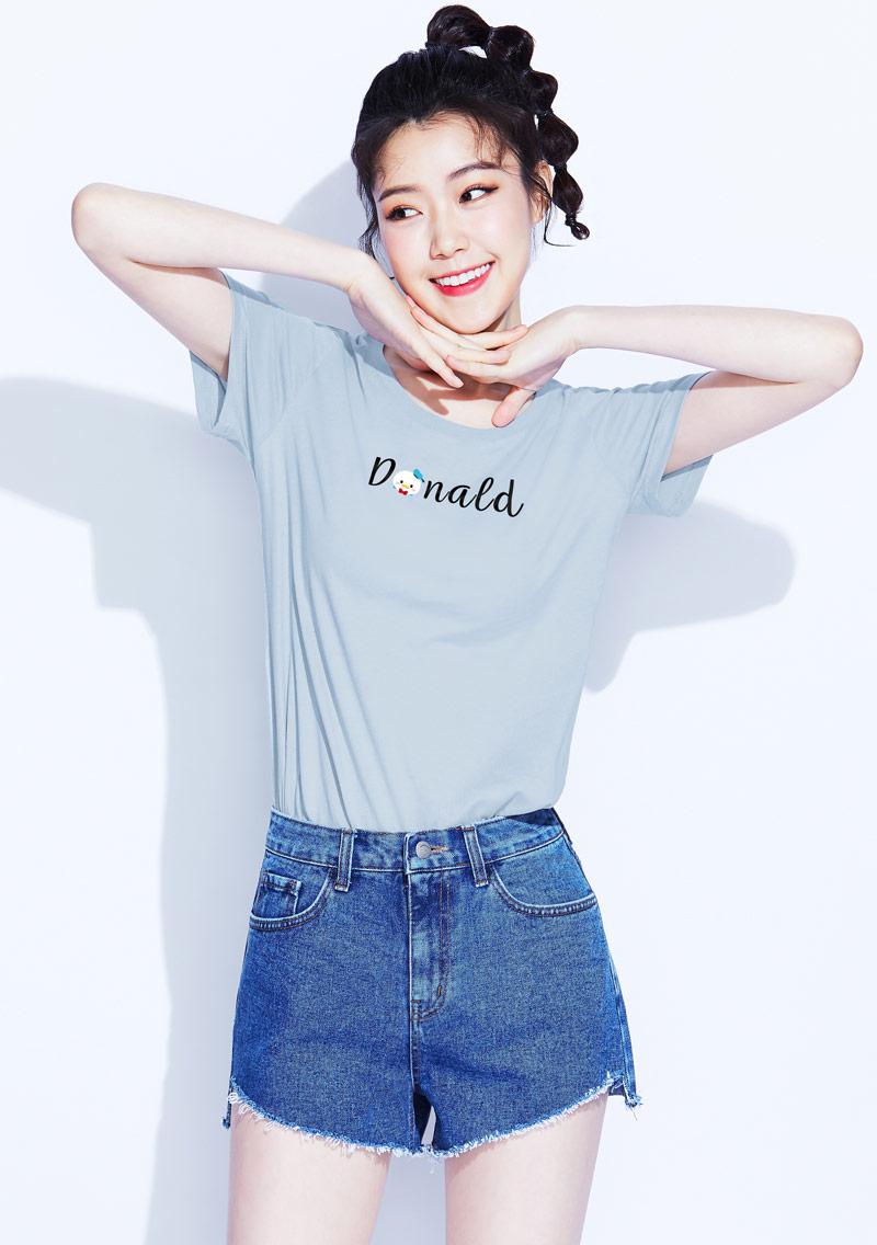 Tsum Tsum系列純棉印花T恤-03