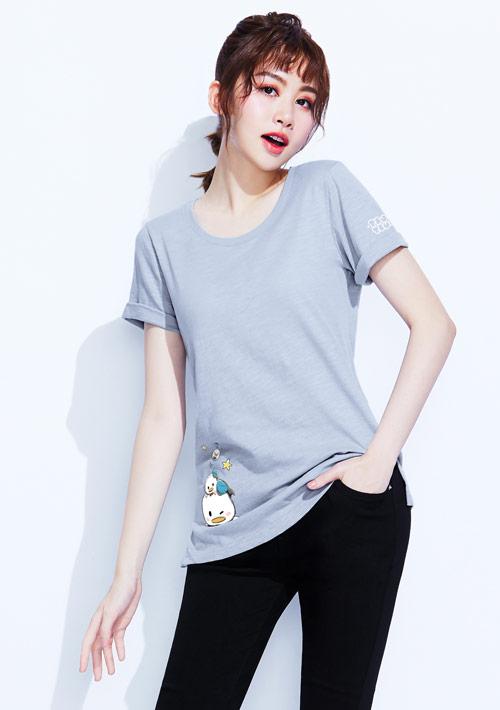 【限時$168】Tsum Tsum系列竹節棉印花T恤-04