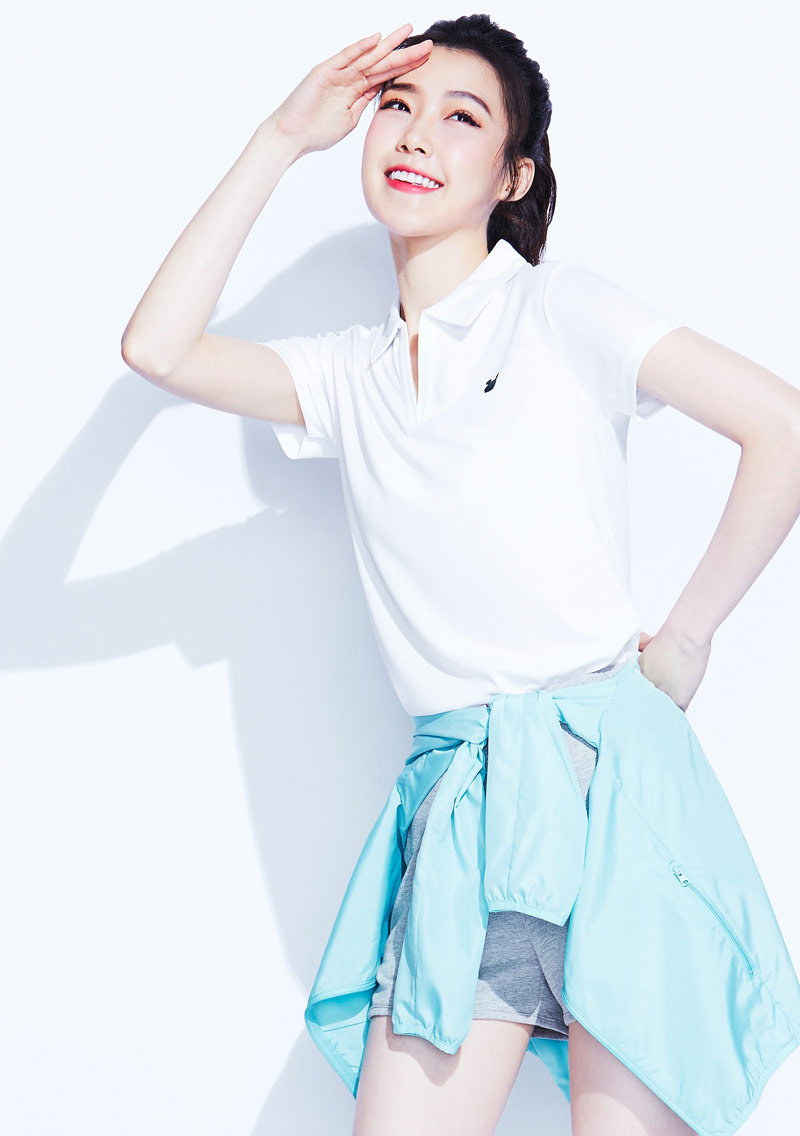 Tsum Tsum系列抗UV吸排polo衫-01