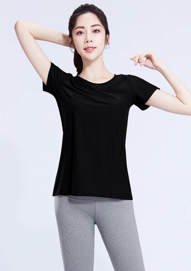 特級彈性吸排涼感圓領短袖T恤