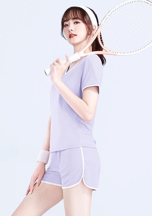 抗UV吸排運動短褲套裝