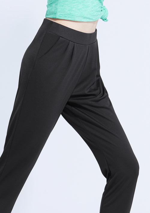 抗UV吸排束口打摺長褲