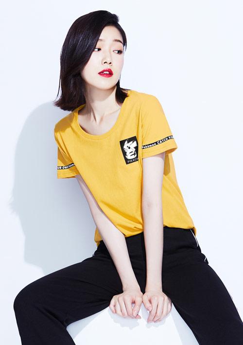 寶可夢系列純棉印花T恤-03