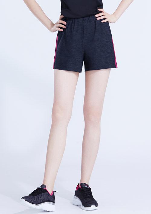 抗UV吸排涼感邊條短褲