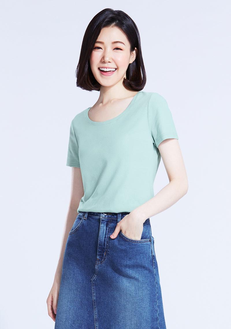 【限時$99】特級棉羅紋圓領T恤