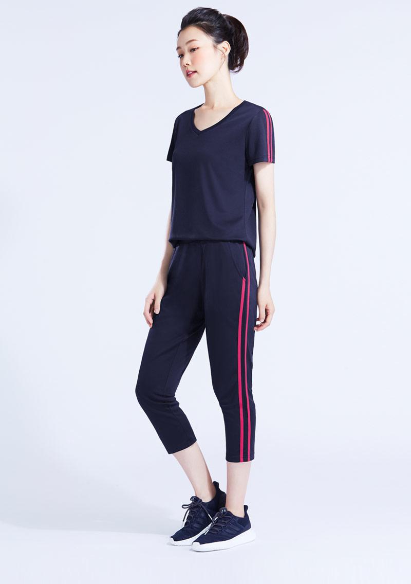 抗UV吸排運動七分褲套裝