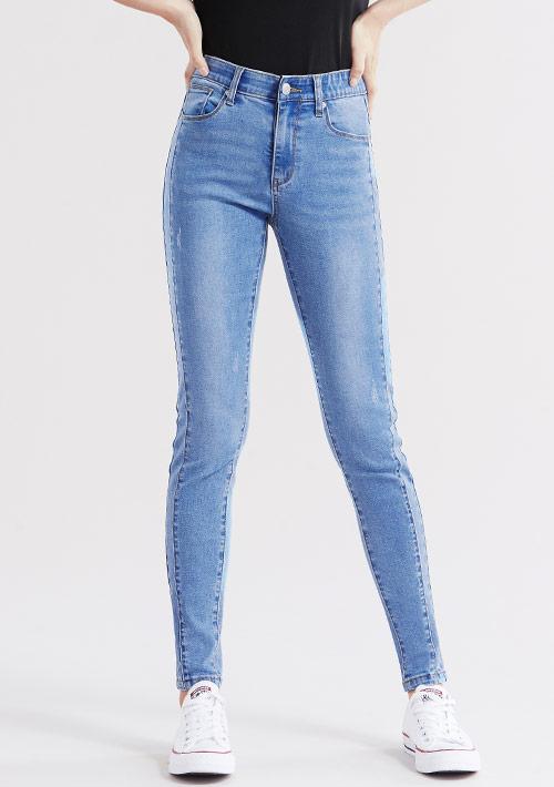 特級彈性3D顯瘦牛仔褲