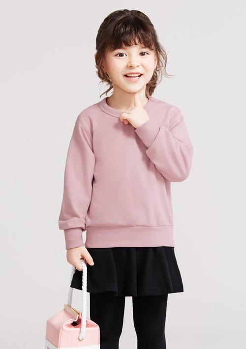 毛圈圓領衫-童裝
