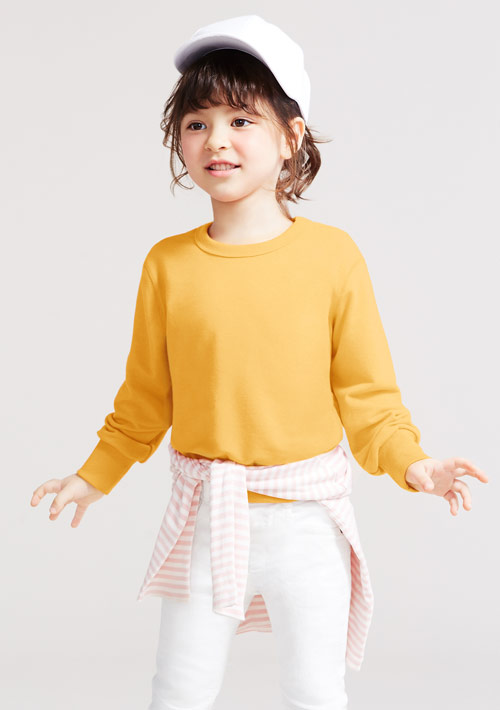 毛圈圓領衫
