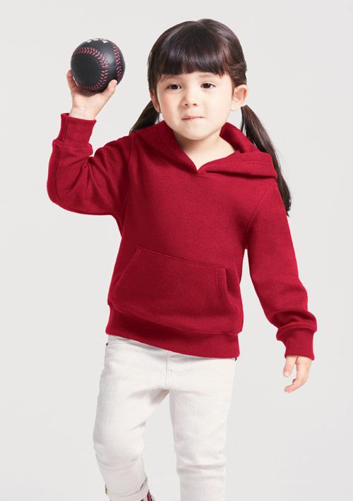 刷毛連帽上衣-童
