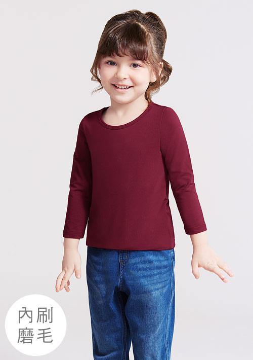 HEATPUSH圓領發熱衣-童裝