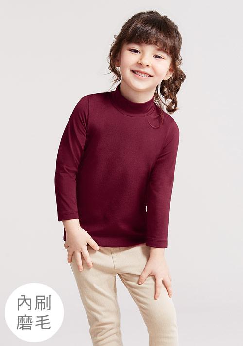 HEATPUSH立領發熱衣-童裝