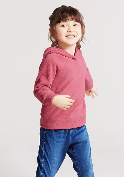Fleece連帽上衣-童裝