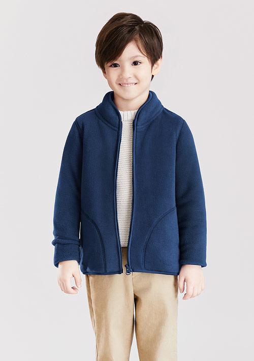 Fleece立領外套-童裝