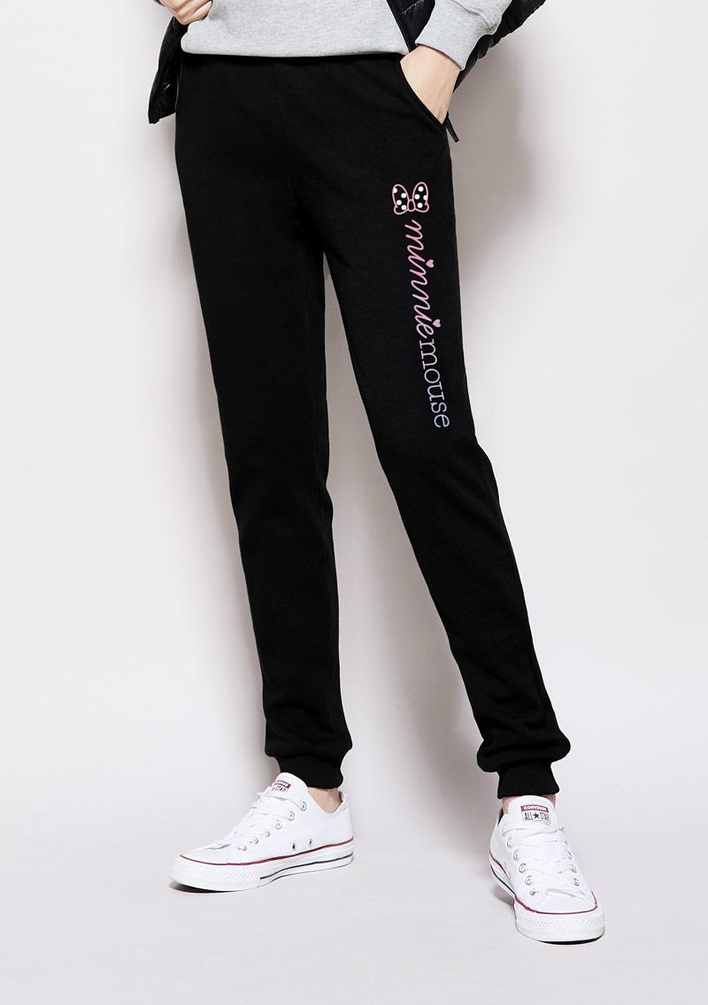 Tsum Tsum 系列刷毛印花保暖褲-03