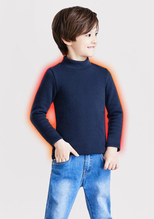 立領保暖衣-童