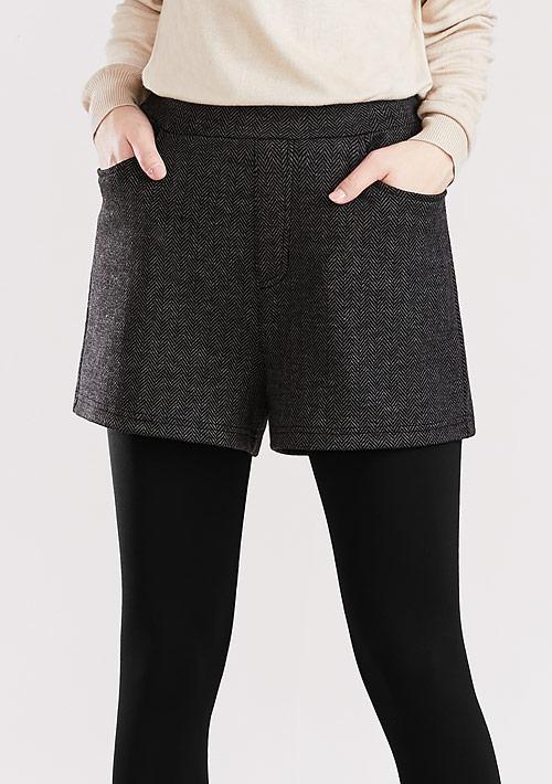 人字紋短褲