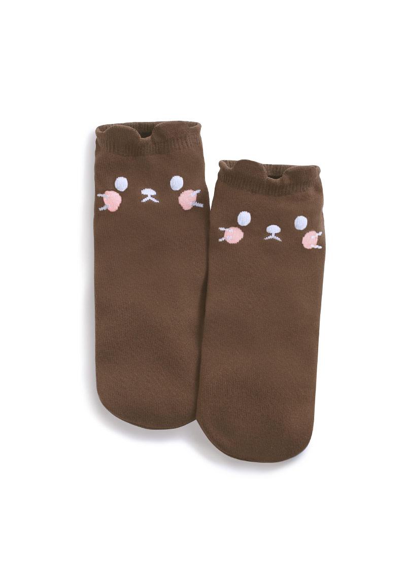 可愛貓咪短襪