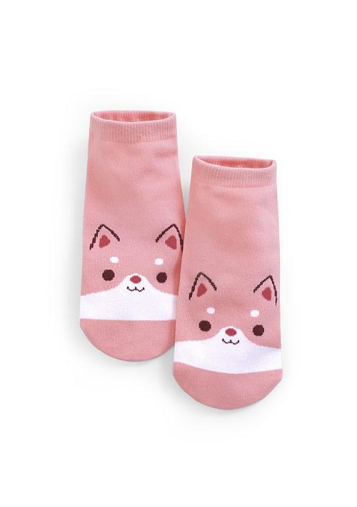 萌系柴犬短襪