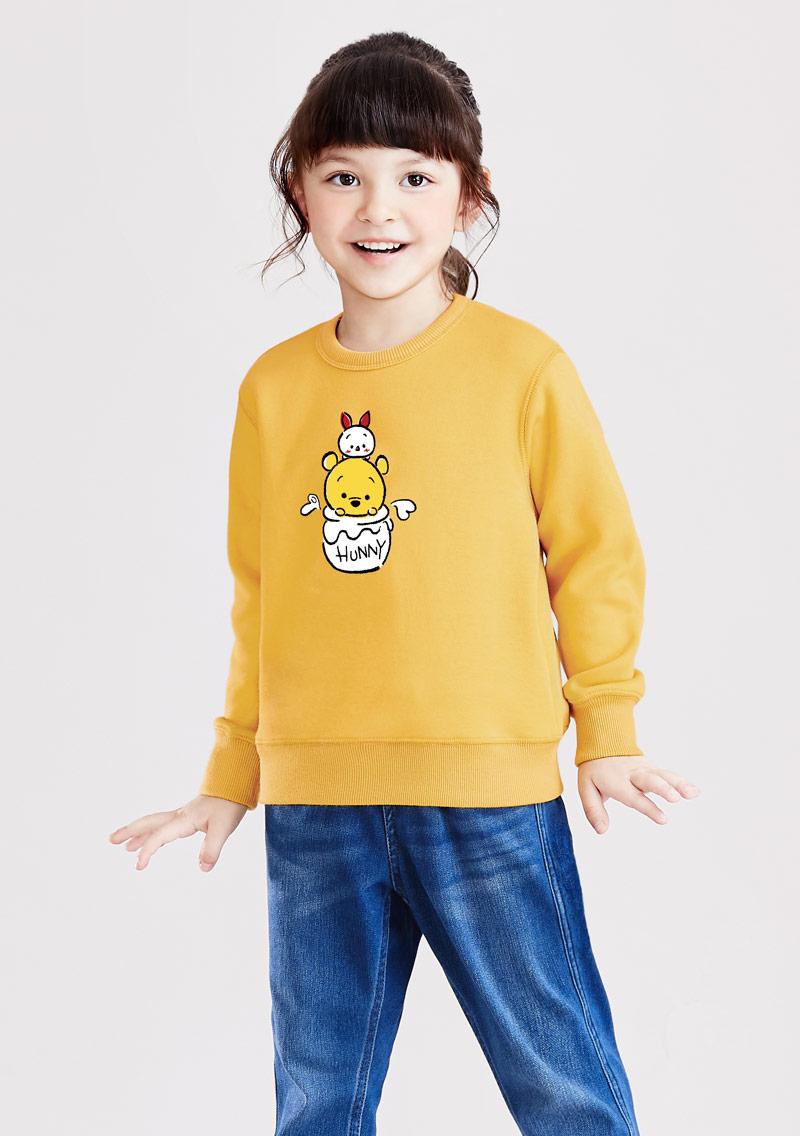 Tsum Tsum 系列刷毛印花T恤-01-童裝
