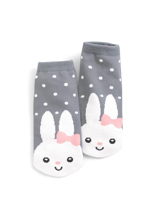 蝴蝶結兔兔短襪