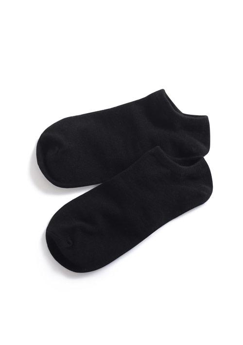 精梳棉短襪-男