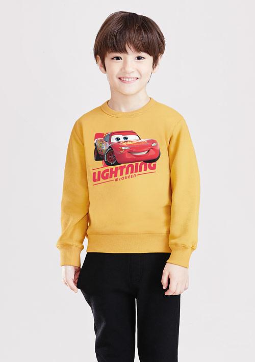 迪士尼Cars系列刷毛印花T恤-01-童裝