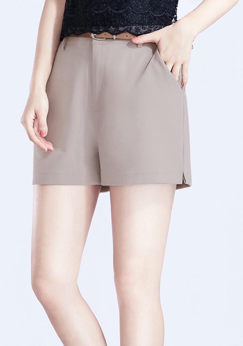 西裝短褲-附腰帶