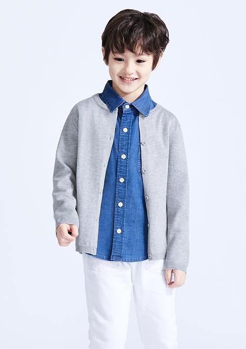 針織外套-童裝