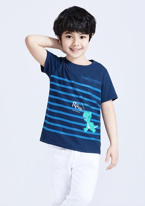 迪士尼Toy Story系列純棉印花T恤-童裝-01