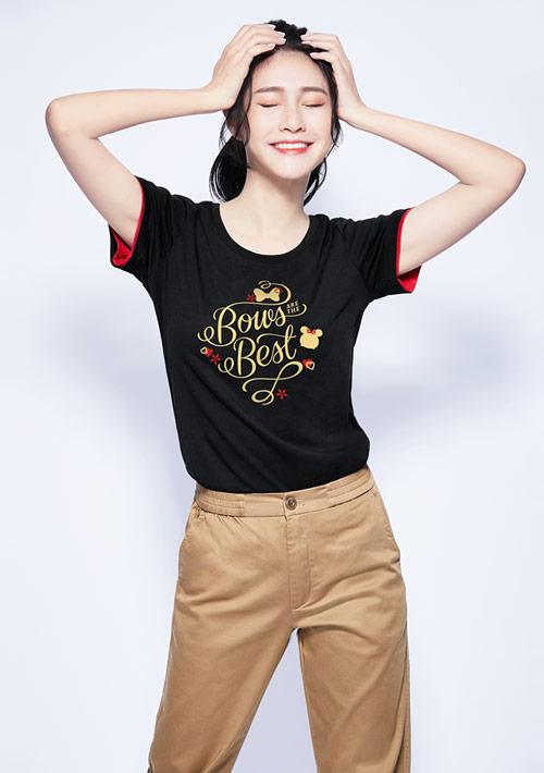 Tsum Tsum 系列純棉印花T恤-01