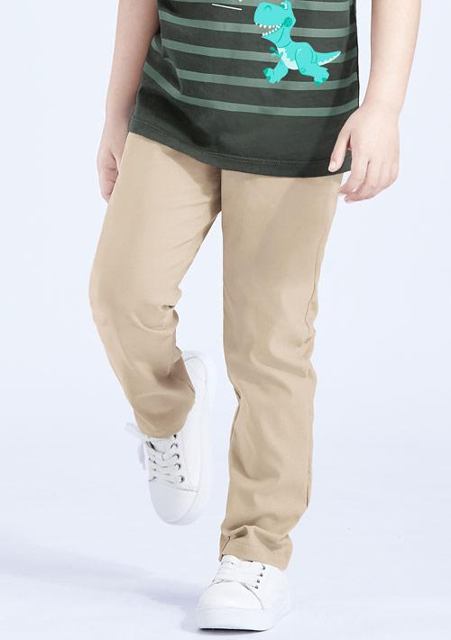 特級彈性涼感窄管褲-童裝