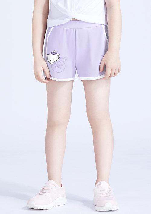 Hello Kitty 抗UV吸排印花短褲-童裝-01