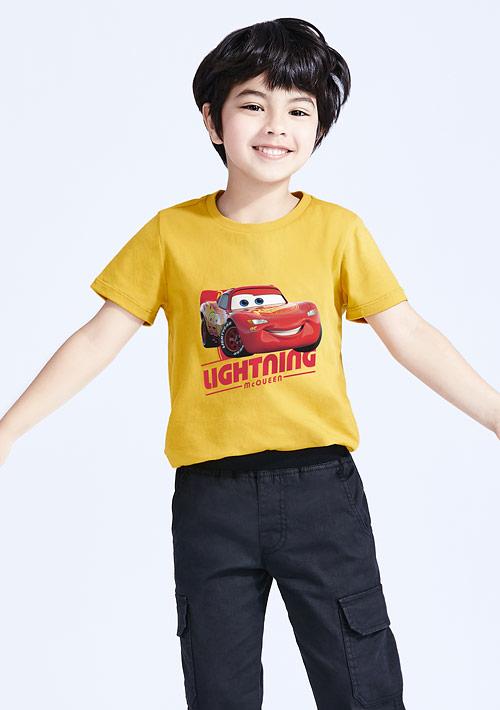 迪士尼Cars系列純棉印花T恤-童裝-03