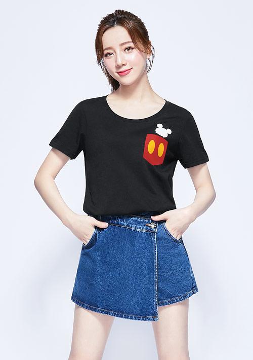 Tsum Tsum 系列純棉印花T恤-02