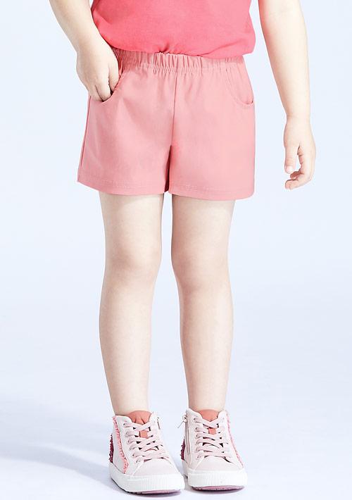特級彈性涼感短褲-童裝