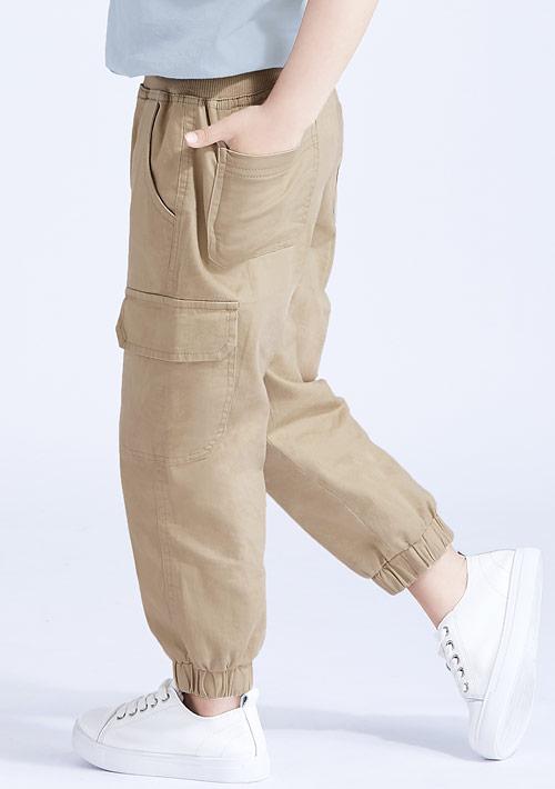 休閒束口褲-童裝