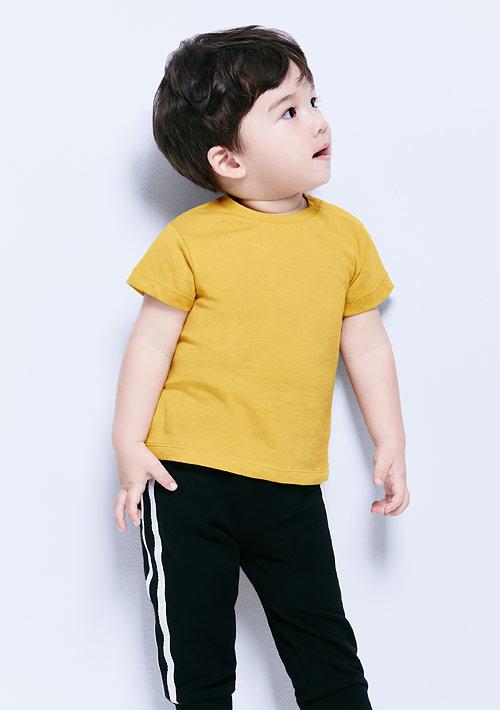 圓領純棉上衣-Baby