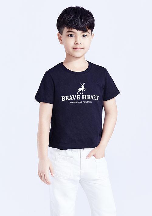 小鹿純棉印花T恤-童裝