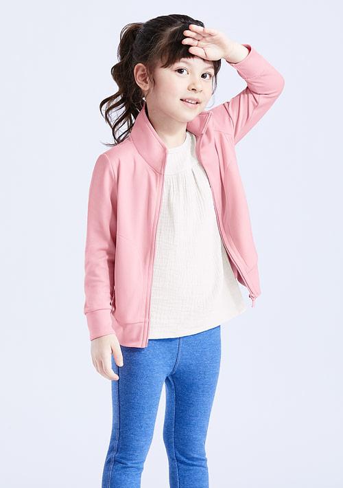 抗UV吸排立領防曬外套-童裝