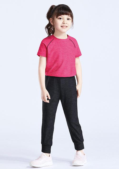 抗UV吸排涼感長褲套裝-童裝